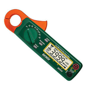 Extech 380942 Clamp Meter Dmm Mini 30a Ac dc True Rms