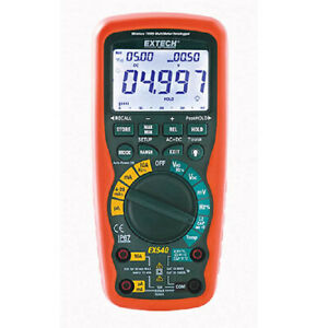 Extech Ex542 12 Function True Rms Industrial Multimeter