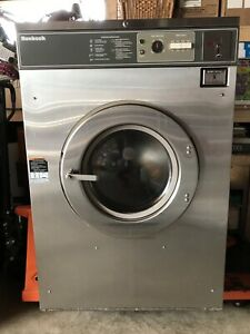 50lb Huebsch Three Phase Coin op Washing Machine Washer Works Great
