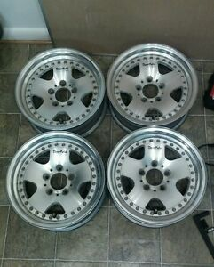 15 Work Modex Deerfield Jdm Wheels 5x114 3 15x6 0 Rims Vip Rare Old School Ssr