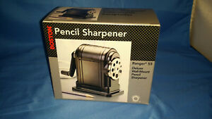 Boston Pencil Sharpener Ranger 55 Wall Mount Hand Crank Brand New Free Ship