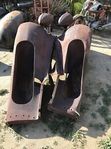 1935 Packard Side Mount Fenders