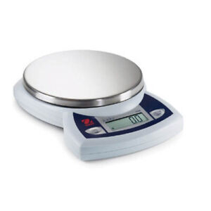 Ohaus Jr2500 Ruby Compact Jewelry Scale 2500g Capacity