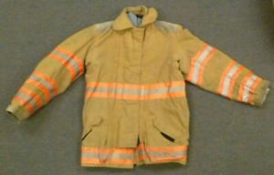 36x32 Globe Firefighter Jacket Coat Bunker Turn Out Gear J706