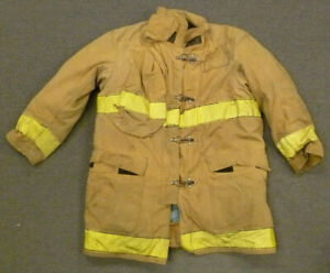 48x40 Globe Firefighter Jacket Coat Bunker Turn Out Gear J710