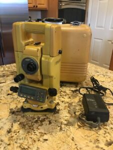 Topcon Gts 313 Total Station Surveying Series Gts 300 With Case