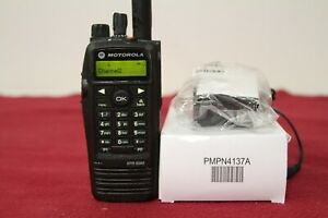 Brand New Mototrbo Xpr6580 Digital Radio 800 900mhz Model Aah55uch9lb1an
