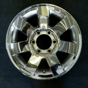 16 Inch Chrome Hummer H3 2006 2009 2010 Oem Factory Original Wheel Rim 6303