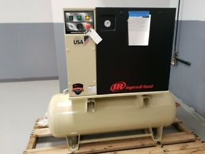 Ingersoll Rand Up6 7 5 150 208v 120 gallon 3 phase 150 psi 7 5 hp Air Compressr