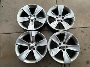 Dodge Challenger Charger 18 Factory Oem Wheels Rims Hyper Silver Set Of 4