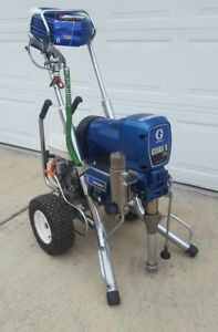 Graco Gmax Ii 5900 convertible Gas electric Airless Paint Sprayer 3900 7900