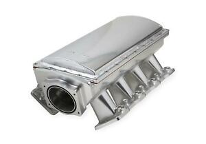 Intake Manifold Fabricated Aluminum Silver Anodized Chevrolet Ls3 L92 Each