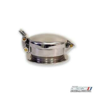 Gas Cap Lemans Style Aluminum Chrome Ford Mustang Each