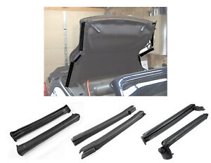 2001 2004 Ford Mustang Cobra Convertible Top Rubber Weatherstrip Seals Kit