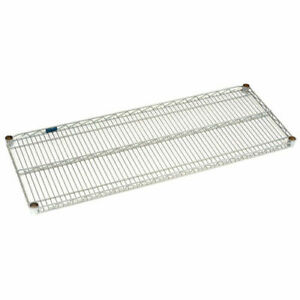Nuline Wire Shelving Stainless Steel 24 X 48 600 Lb Cap Qty 2 Pcs 1101 s2448s