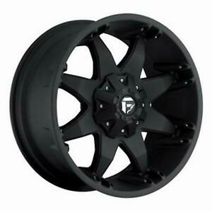 Mht Fuel Offroad Octane 18x9 Wheel With 6 On 135 And 6 On 5 5 Bolt Pattern
