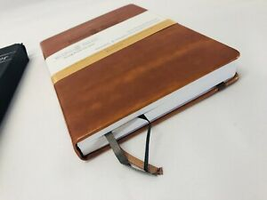 Wordsworth Leather Bound Business Planner Brown 2019 Beautiful Classy Folio