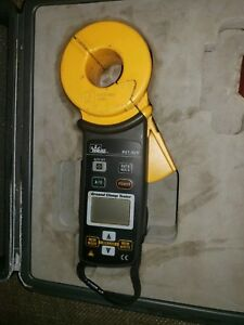 Ideal 61 920 Ground Resistance Clamp Meter Case Great Condition