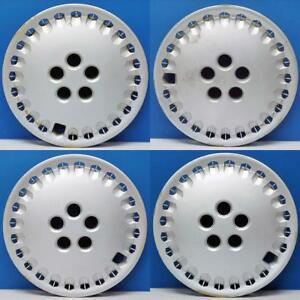 1987 1991 Toyota Camry 61000 14 Hubcaps Wheel Covers B3810fs240 Set 4