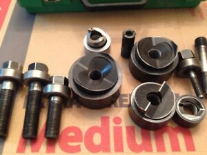 Greenlee Knockout Dia Set Lot