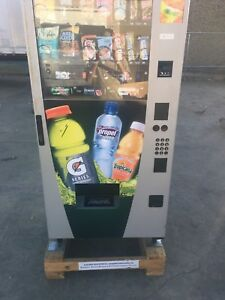 Wittern 3577 Drink And Snack Refrigerated Vending Machine 115v Single Phase