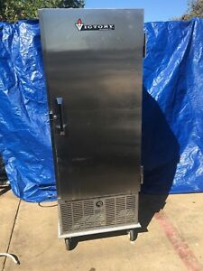 Victory Acrs ad s7 sts Display Refrigerator Cooler Mobile On Casters Stainless