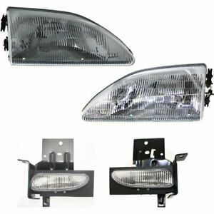 Right Left Side New Auto Light Kit Lh Rh For Ford Mustang 1996 1998