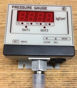 New Nks Digital Pressure Gauge 0 3 Kgf cm 2 In Original Packaging