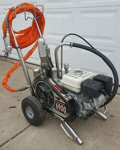 Titan Speeflo 6900xlt Convertible Hydraulic Airless Paint Sprayer gas