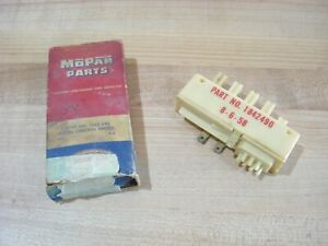 Nos Mopar 1959 60 Dodge Plymouth Chrysler Heater Vacuum Control Switch Nib