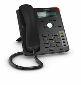 Snom D725 Professional Voip Poe Business Phone W Hd Wideband Audio And 12 Lines