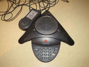Polycom Soundstation 2 Conference Phone W Wall Module cf7