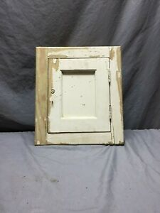 Antique Wood Medicine Cabinet Cupboard Recessed Shabby Vintage Chic 99 19d