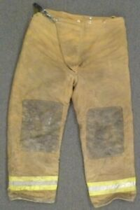 40x30 Globe Tan Firefighter Pants Turnout Bunker Fire Gear P066