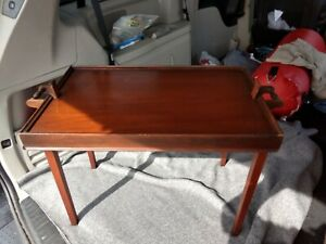 Ferguson Bros Folding Butler Tray Table Mahogany