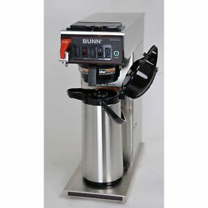Bunn Cwtf15 aps 23001 0051 Automatic Airpot Coffee Brewer Hot Water Tap 120v
