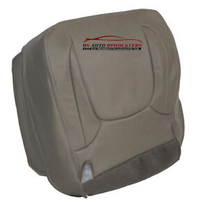 2004 Dodge Ram 1500 2500 3500 Laramie Driver Bottom Vinyl Seat Cover Taupe Gray