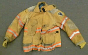 44x29 Janesville Firefighter Jacket Coat Bunker Turn Out Gear J722