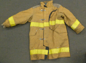 44x40 Janesville Firefighter Jacket Coat Bunker Turn Out Gear J720