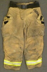 40x30 Globe Gxtreme Firefighter Pants Turnout Bunker Fire Gear W Liner P074