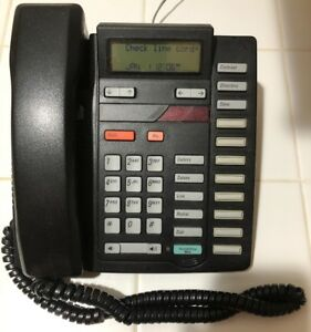 Meridian 9316cw Telephone Black With Manuals