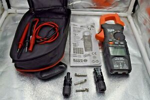 Klein Tools Cl800 True Rms Clamp Meter W accessories