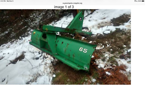 John Deere Attachments 8ft Back Blade 3 Bottom Plow 3 Point Hookups