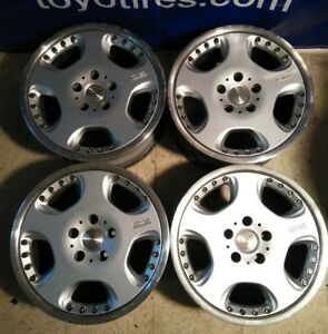 4 17 Oz Opera Ii O Z Racing Jdm 5x120 Wheels 17x8 35 Rare Full Face Rims Dish