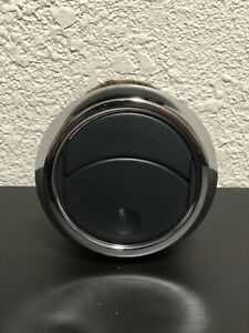 1 One 2005 2009 Ford Mustang Black Chrome Heater Ac Air Dash Vent Vents Round