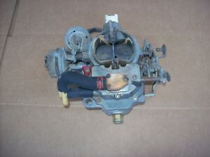 Jeep Cj Carter 2 Barrel Carburetor 4 2l 6cyl