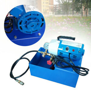 Electric Pressure Test Pump Hydraulic Piston Testing Pump 2 5mpa 1440r min 110v