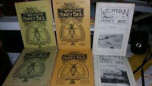 The Western Honey Bee Pub california State Bee keepers Assn Covina Ca Apiary