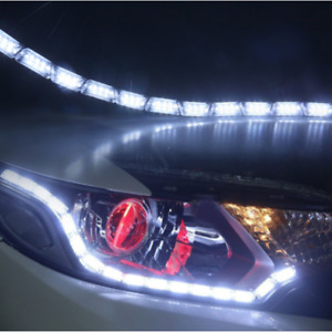 12led Switchback Car Flexible Led Strip Light Drl Sequential Turn Signal Lamp