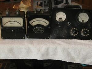 Vintage Weston Model 2 Ac Amp Meters Weston Tester Model 301 Bakelite